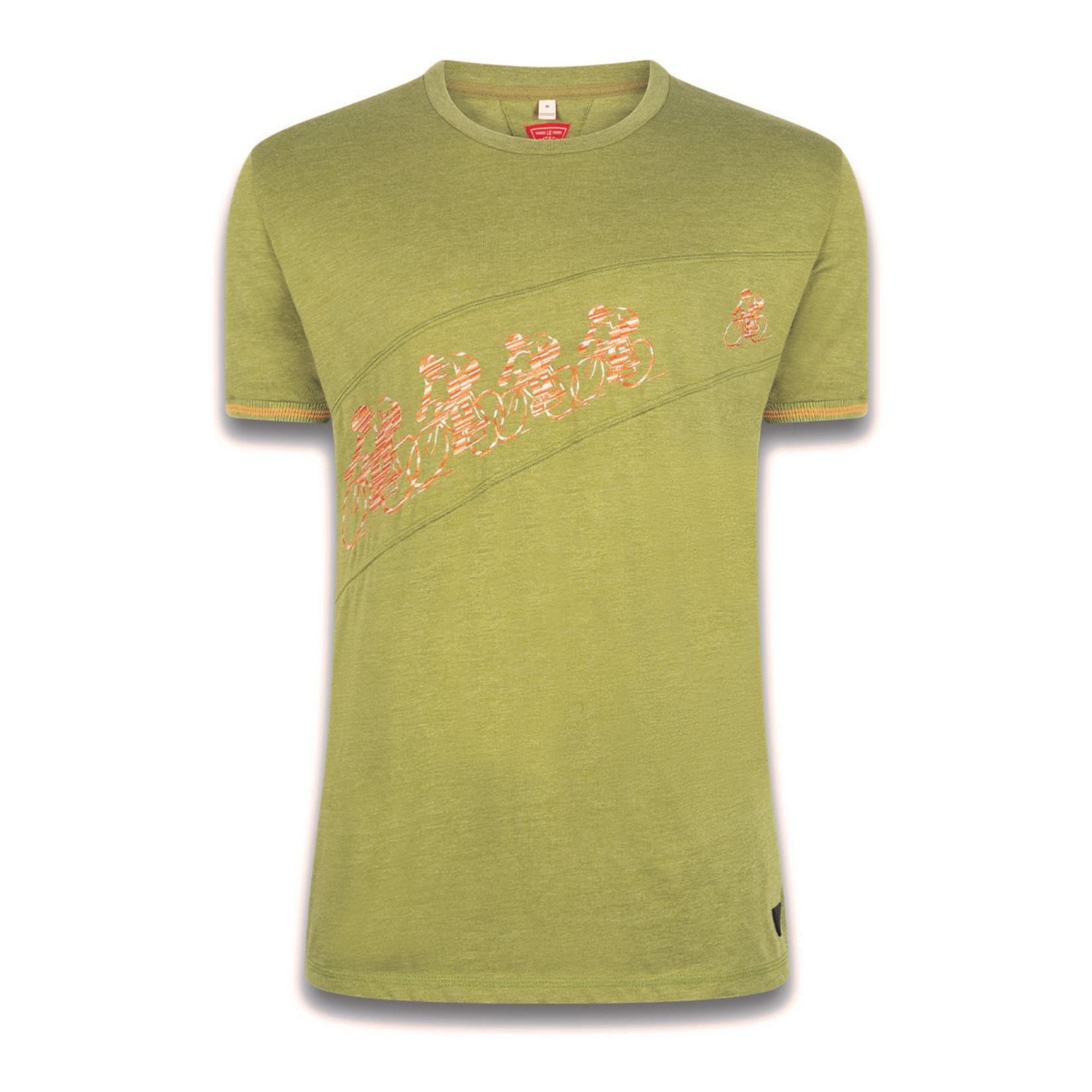Le Patron T-shirt 'Pour Suite' khaki