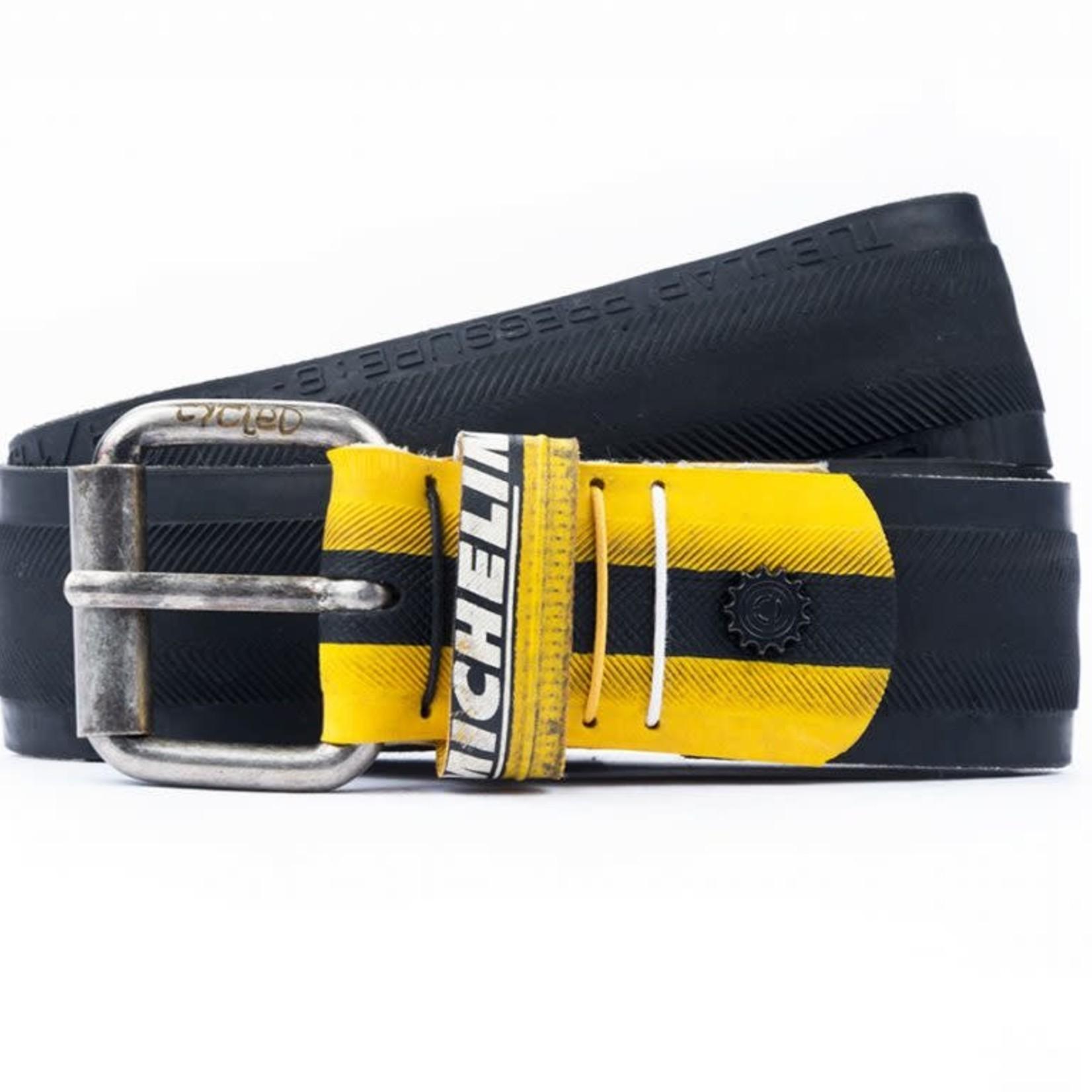 Cycled classica zwart + geel Michelin