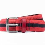 Cycled classica colour rood + zwart (streep)