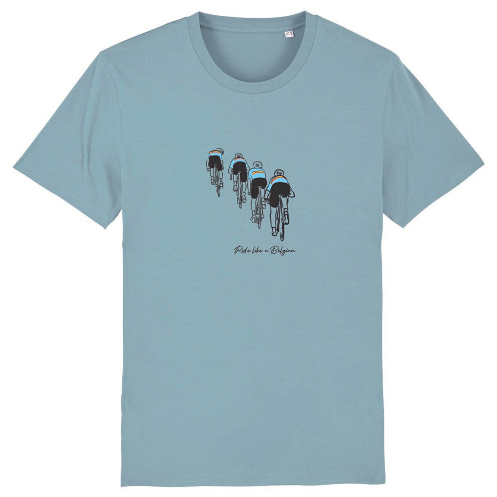 T-shirt 'Echelons' (blauw)