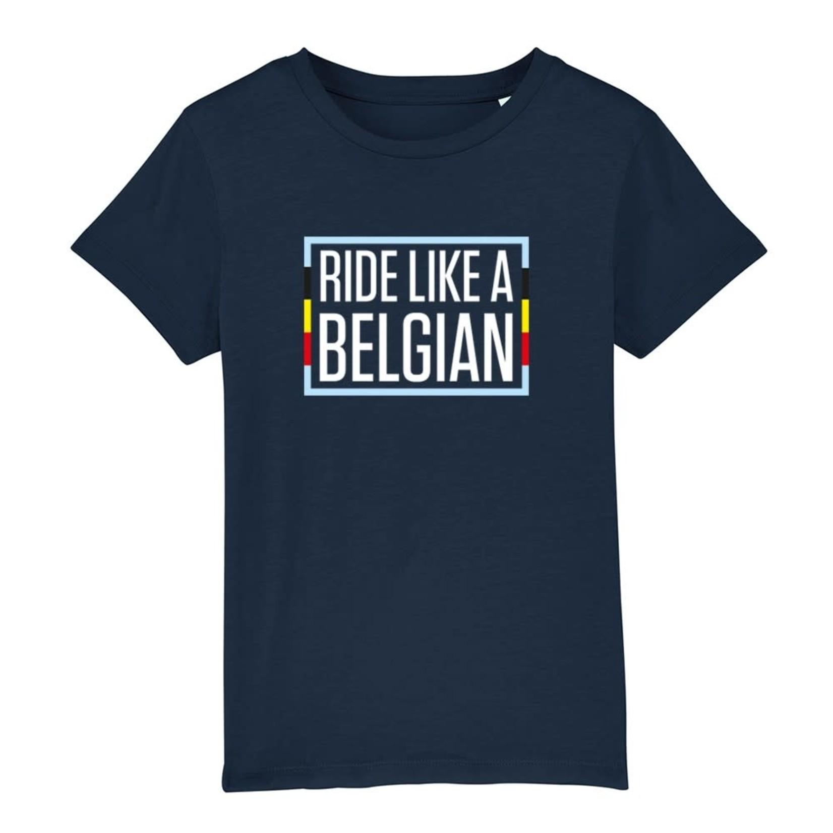 T-shirt kids 'Ride like a Belgian'