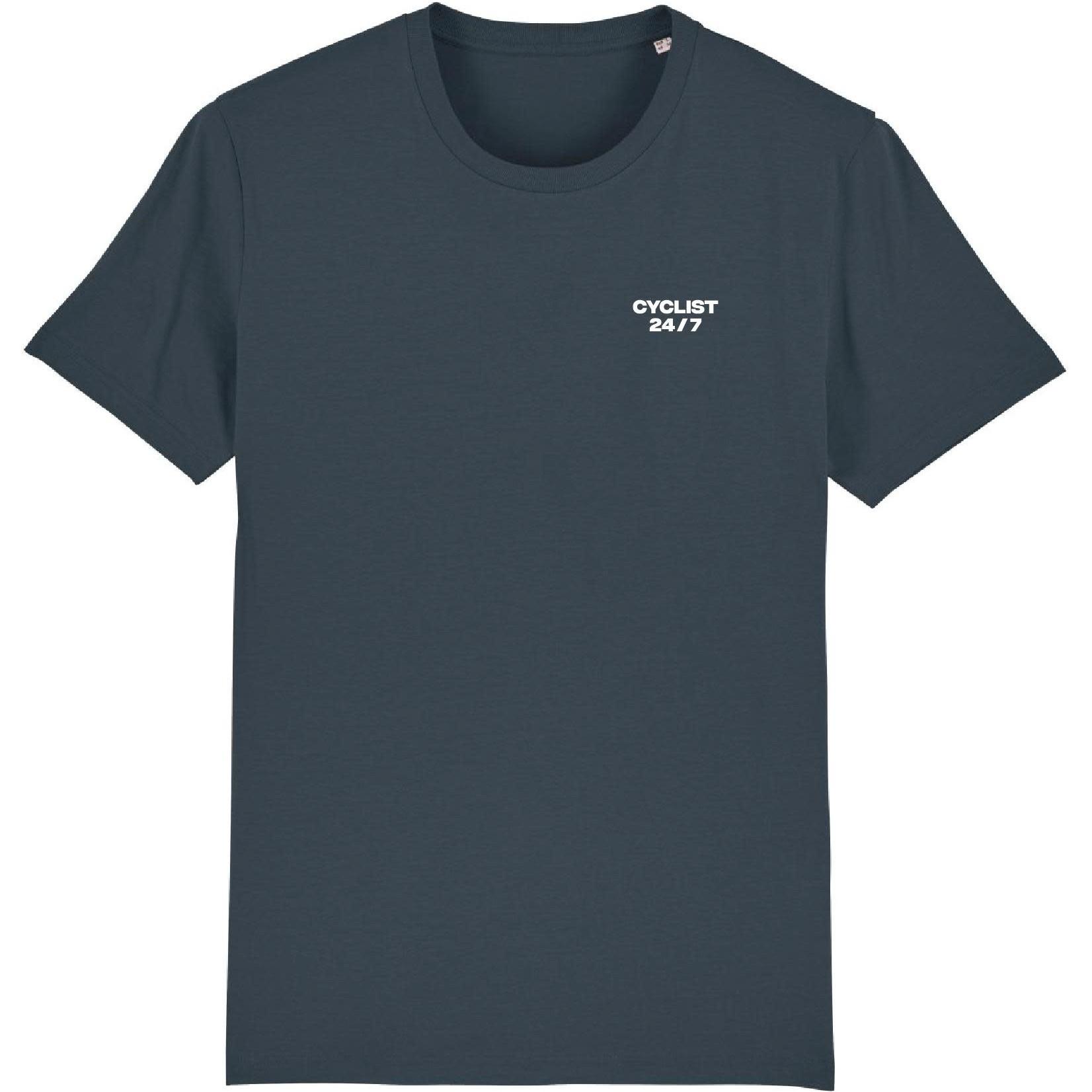 T-shirt 'Cyclist 24/7' (grey)