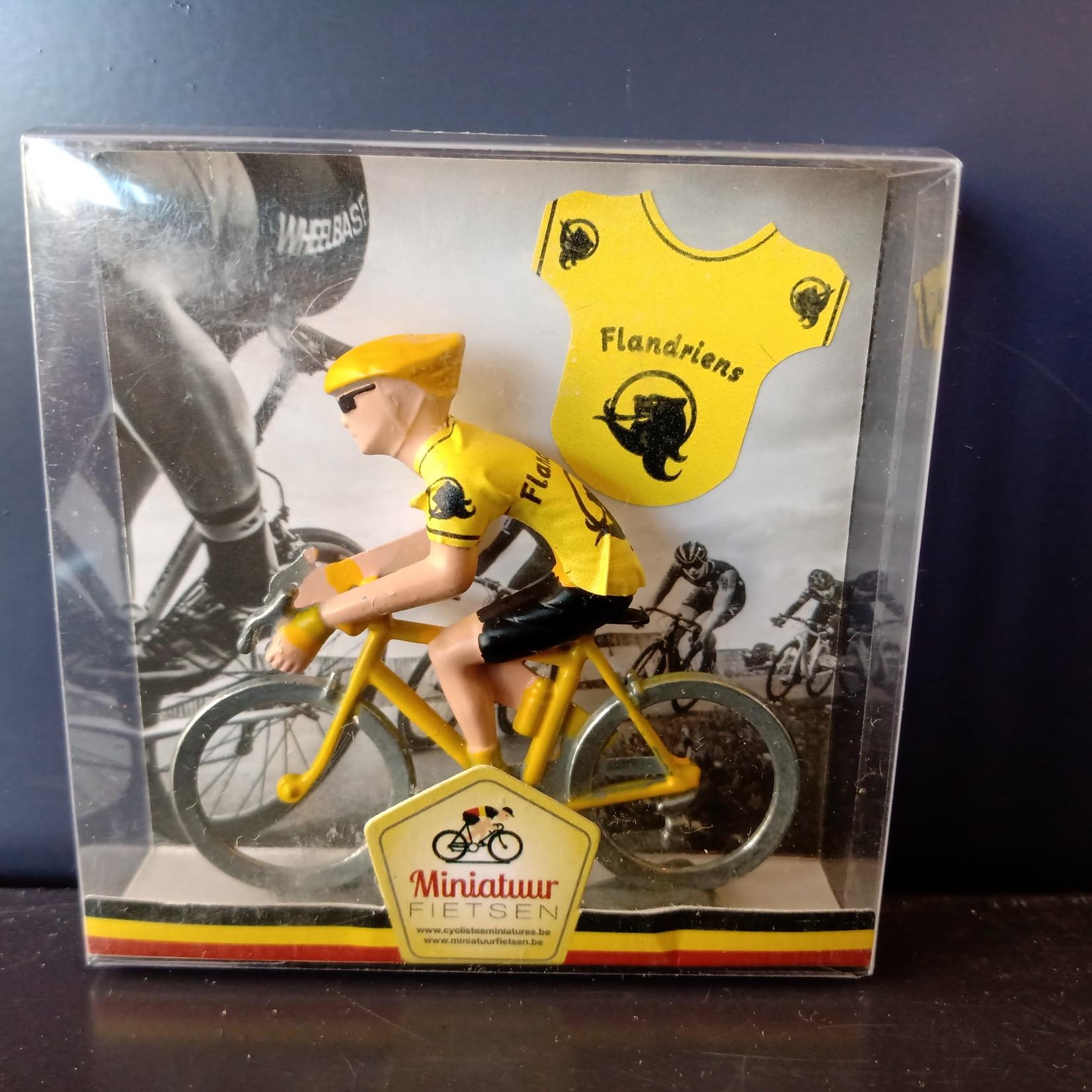Miniatuur renner Flandriens