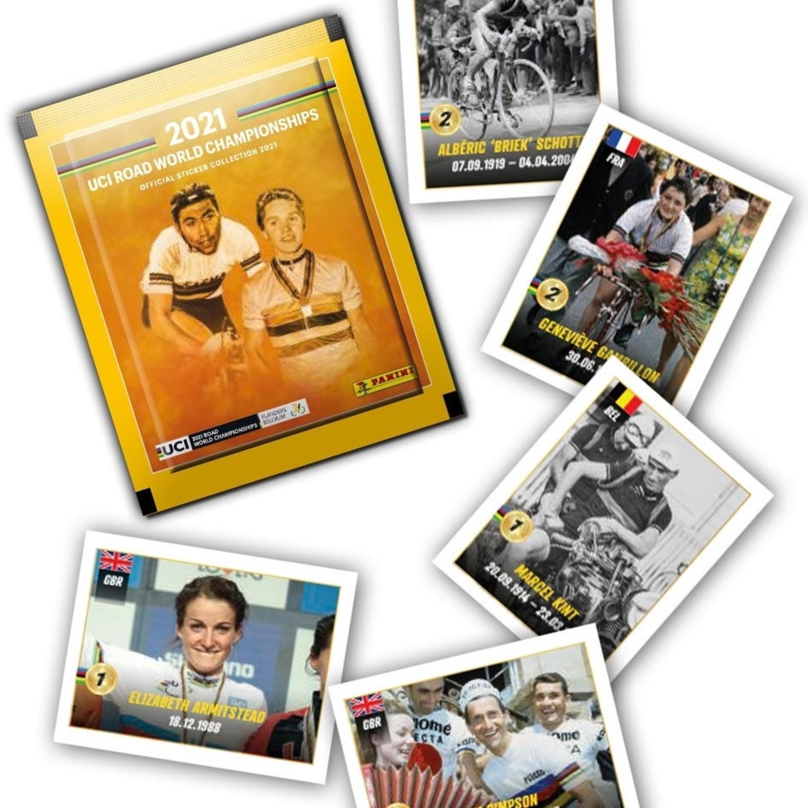 Panini UCI Worldchampion 2021 (1 zakje)