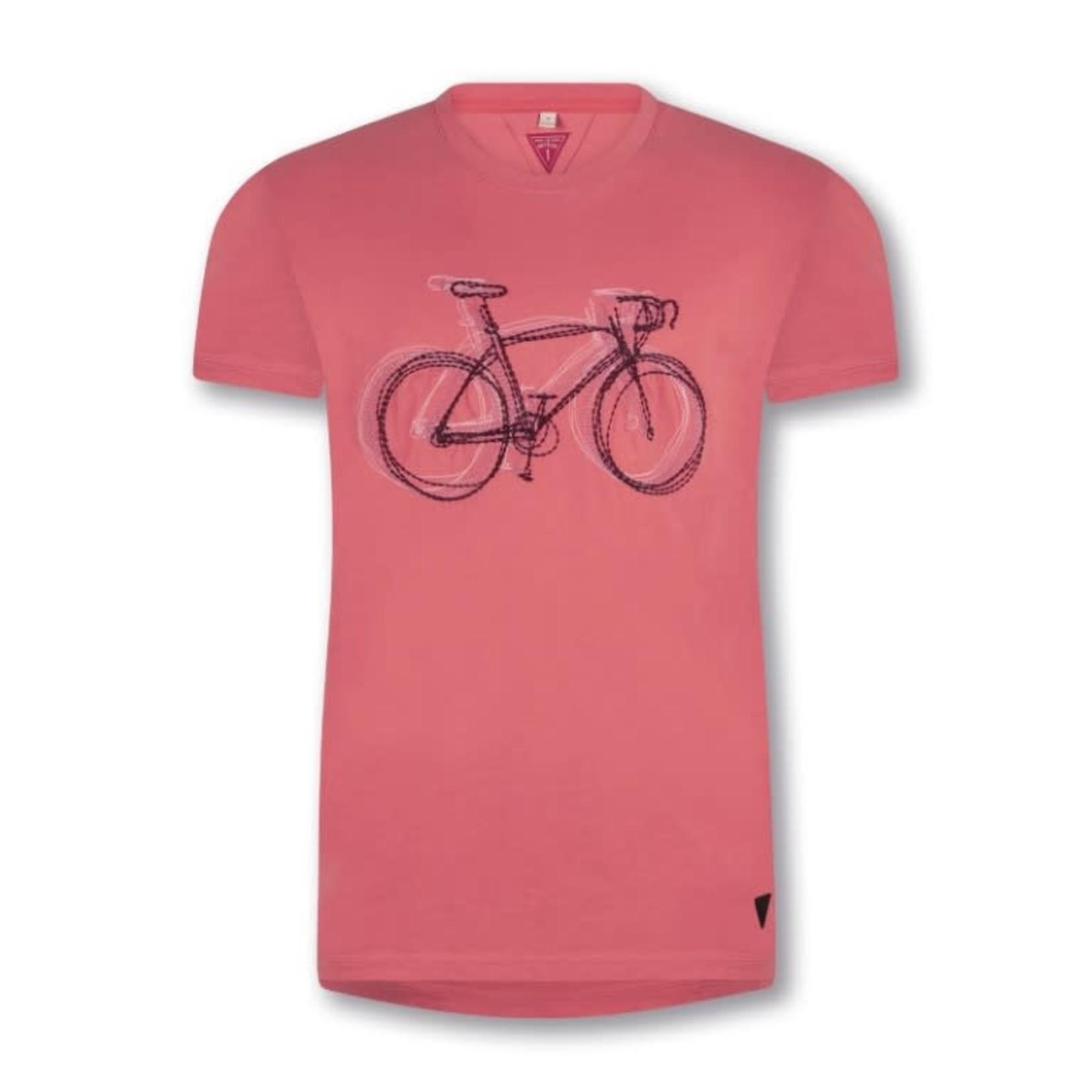 T-shirt 'Velo De Course'