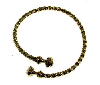 Armband Torc Verzilverd