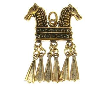 Hanger Paarden Brons