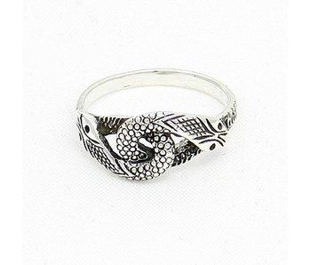 Ring Slangen Zilver