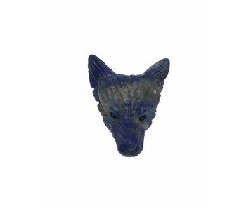 Wolf Edelsteen Krachtdier - Lapis Lazuli