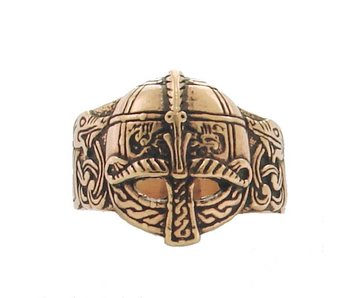 Ring Viking Valsgarde Helm Brons