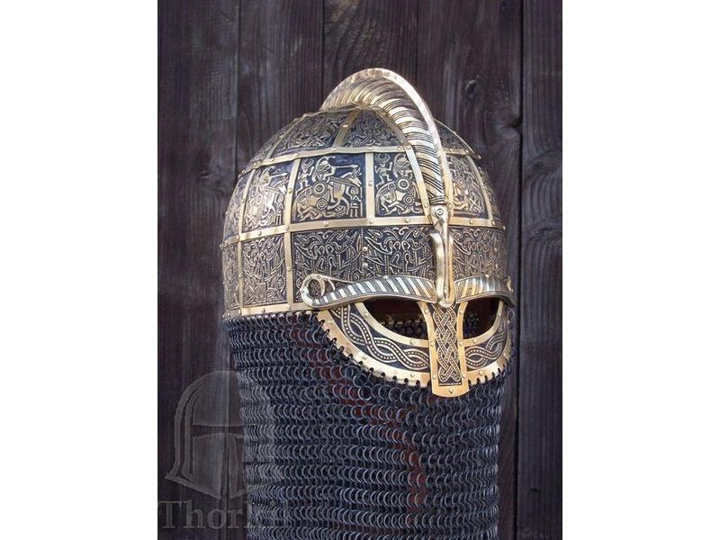 Ring Viking Sutton Hoo Helm Brons