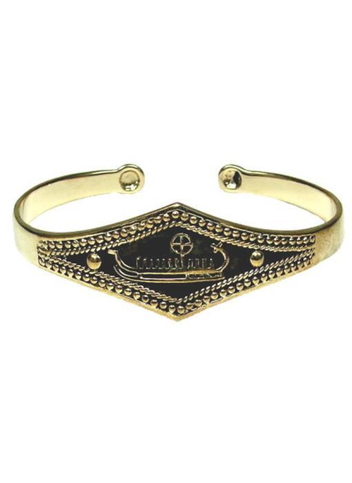 Armband Zonneschip Brons
