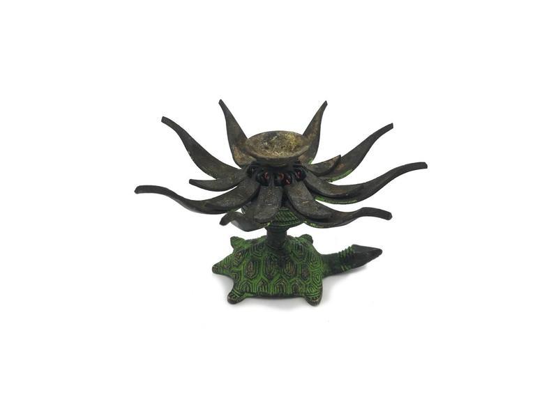Wierookbrander Lotus Nepal - Antiek