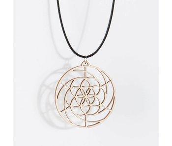 Hanger Hout 'Golden Spiral'