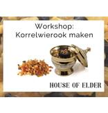 Spiritueel Centrum Miraja Workshop Korrelwierook maken: donderdag 23 januari