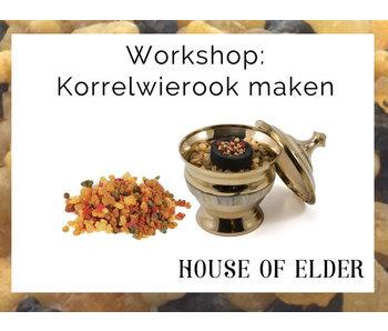 Workshop Korrelwierook maken: donderdag 23 januari