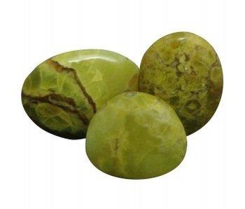 Palmsteen Groene Opaal Groot