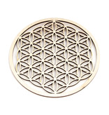 Flower of Life Hout 6 cm