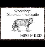 Workshop: Dierencommunicatie 22 aug 2020