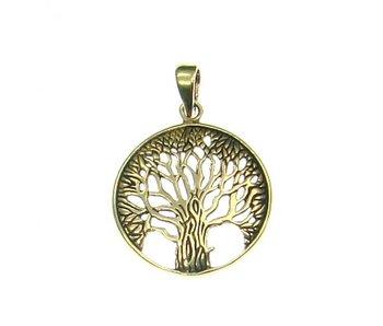Hanger Levensboom In Cirkel Brons B09