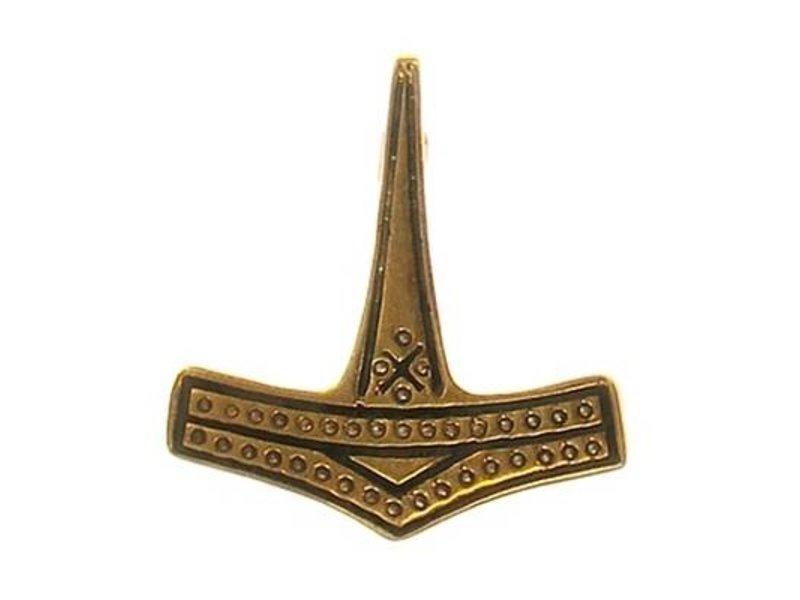 Broche Mjolnir Brons