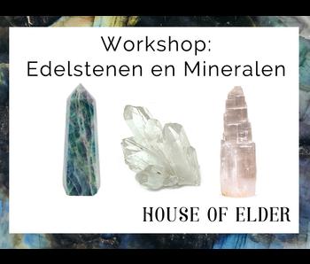 Workshop: Edelstenen en Mineralen - 24 oktober