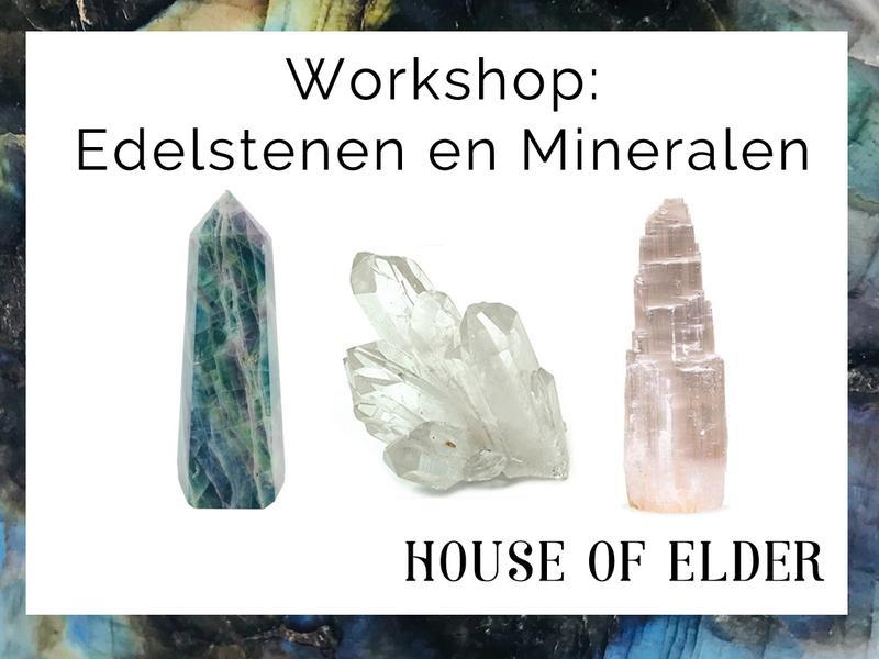 Workshop: Edelstenen en Mineralen