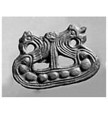 Broche Vikingboot Lillevang Brons
