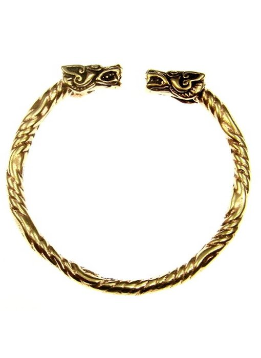 Armband Wolven Brons