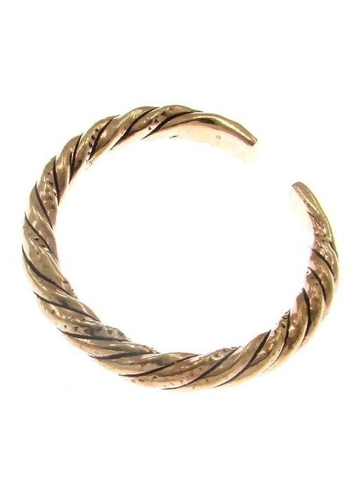 Armband Gedraaid Brons