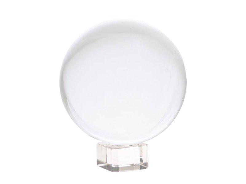 Kristallen Bol op Voetje 8 cm