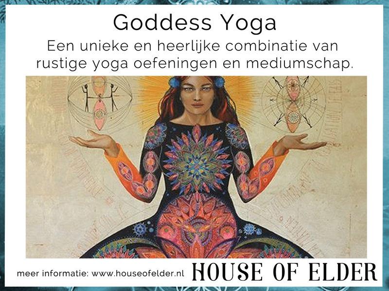 Goddess Yoga Avond bij House of Elder