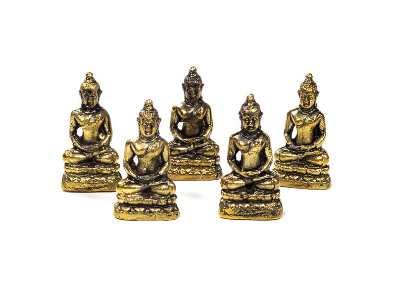 Boeddha messing 3 cm