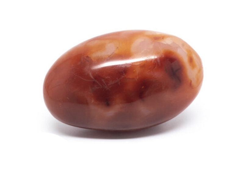 Carneool Palmsteen Groot