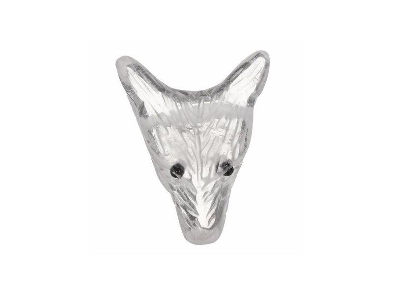 Wolf Edelsteen Krachtdier - Bergrkistal