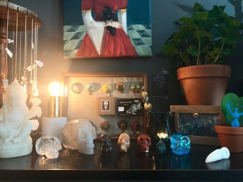 Online Workshop : Crystal Skulls - 2 mei