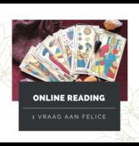 Tarot Reading op Afstand van Felice  - 1 vraag