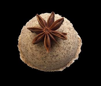 Vegan Organic Bathbomb Koffie en Kaneel