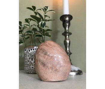 Maansteen Roze Sculptuur A