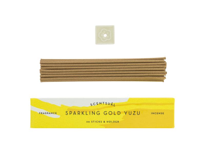 Japanse Wierook Sparkling Gold Yuzu Scentsual