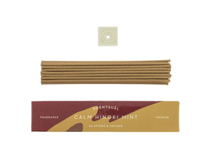 Japanse Wierook Calm Hinoki Mint Scentsual
