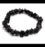 Armbandje Toermalijn Zwart Splitsteentjes