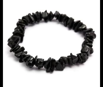 Toermalijn Zwart Armbandje Splitsteentjes