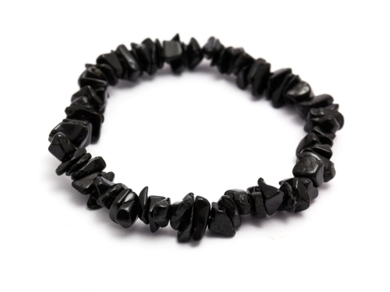 Armbandje Toermalijn Zwart