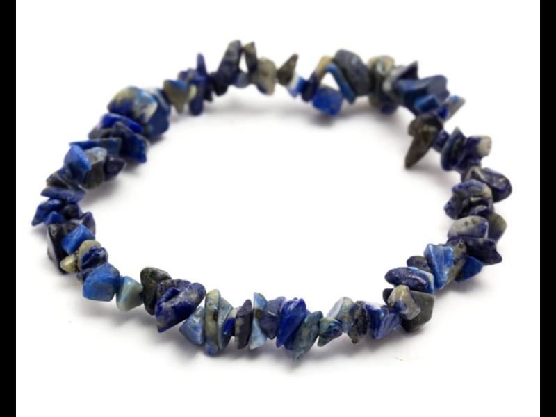 Armbandje Lapis Lazuli Splitsteentjes