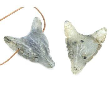 Labradoriet - Wolf Edelsteen Krachtdier