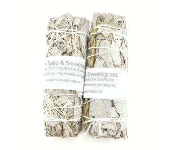 Smudge Witte Salie & Sweetgrass