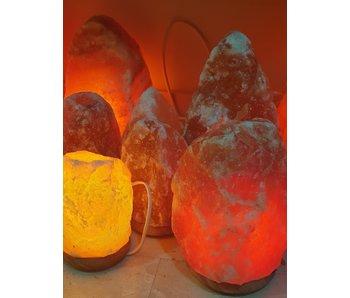 Lamp Zoutkristal XXXL 18-22 kilo