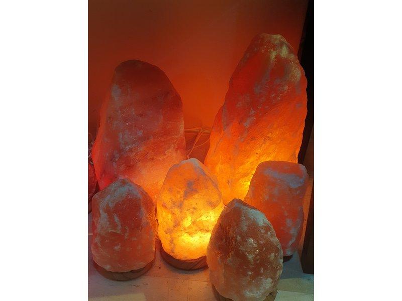 Lamp Zoutkristal 18-22 kilo