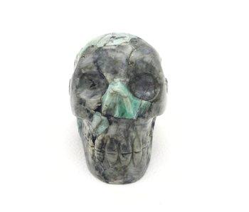 Kristallen Schedel Smaragd